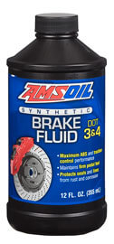 AMSOIL DOT 3 and DOT 4 Synthetic Brake Fluid